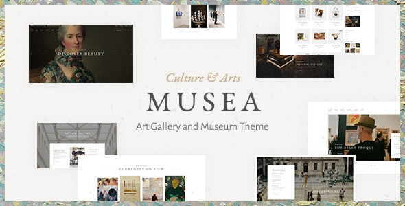 Musea - Art Gallery and Museum Theme - Art Creative