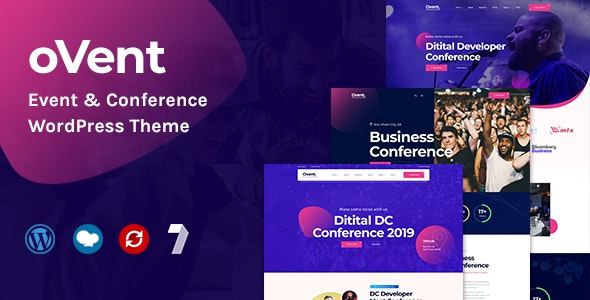 Ovent - Event & Conference WordPress - Events Entertainment