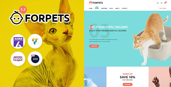 Forpets Theme Preview