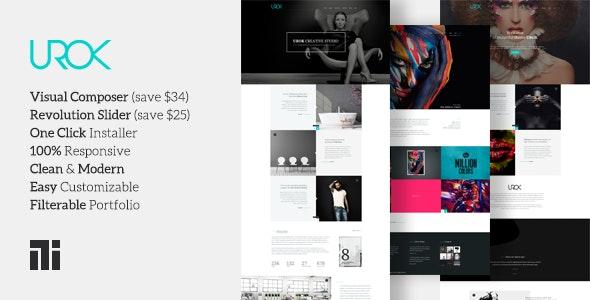 Urok - Fashion Photography Theme - Photography Creative