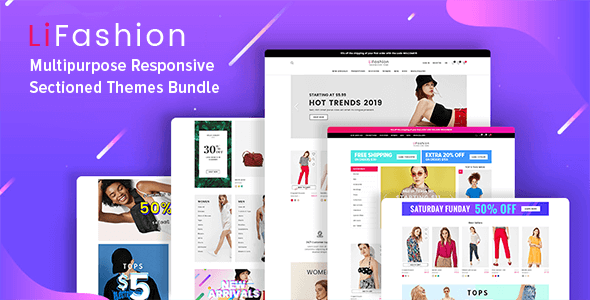 LiFa - Fashion Shopify Theme - Mobile Optimized Sections Builder