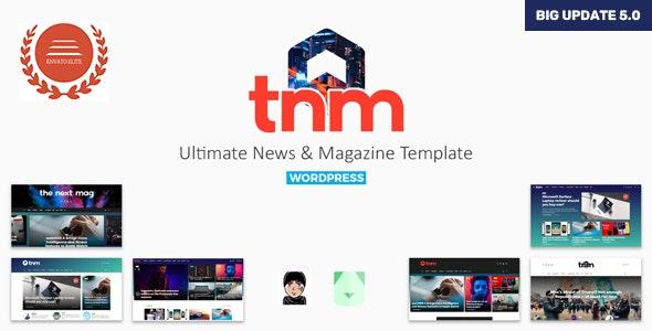 The Next Mag - Ultimate Magazine WordPress Theme - News / Editorial Blog / Magazine