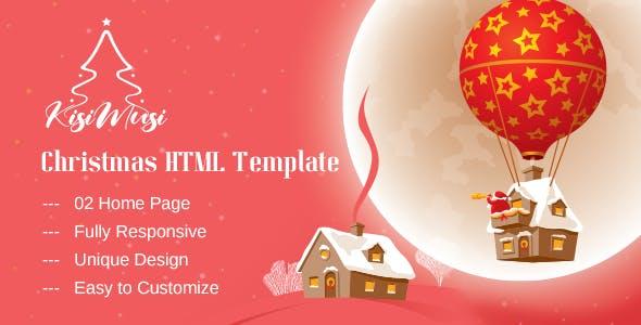 Kisimusi - Christmas HTML Template