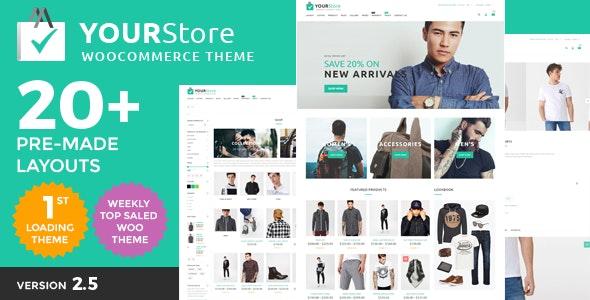 YourStore - Woocommerce theme - WooCommerce eCommerce