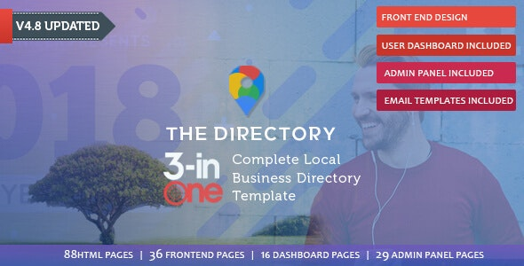 The Directory & Listing HTML Template - Business Corporate