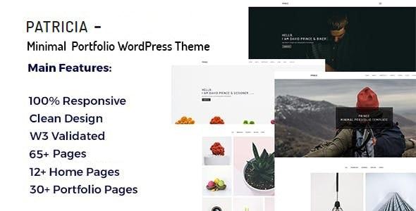 Patricia - Minimal Portfolio WordPress Theme - Portfolio Creative