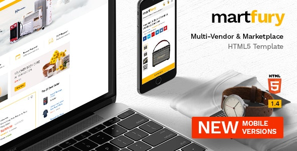 Martfury - Multipurpose Marketplace HTML5 Template with Dashboard by nouthemes