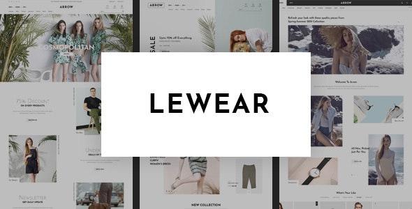 Lewear - Fashion Multipurpose WooCommerce Theme - WooCommerce eCommerce