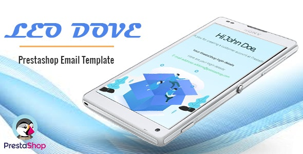 Leo Dove - Perfect Email Template For Prestashop Ecommerce - Email Templates Marketing