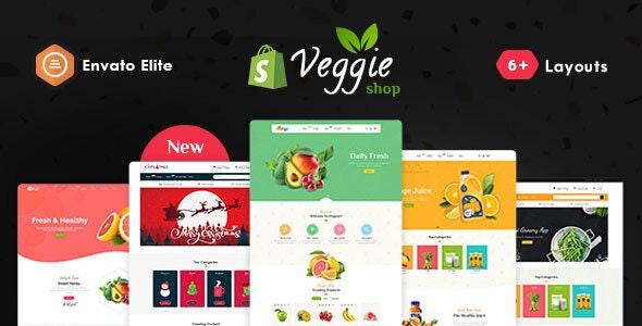 Veggie - Shopify Multi-Purpose Responsive Theme - Health & Beauty Shopify