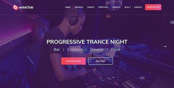 Beatsclub - Nightlife & Event Template