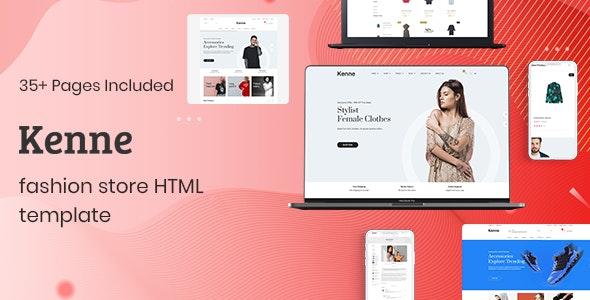 Kenne - Fashion Store HTML Template - Fashion Retail
