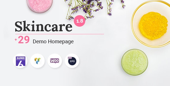 Skincare - Cosmetics Shop WooCommerce WordPress Theme - WooCommerce eCommerce
