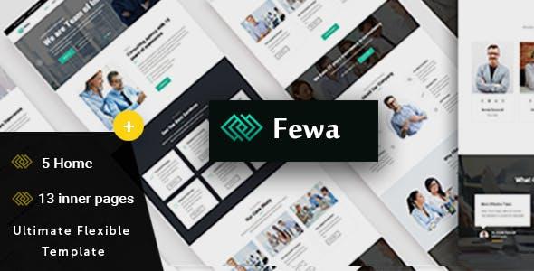 Fewa -  Multi-Purpose Corporate Template