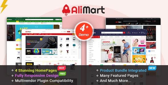 AliMart - Multipurpose OpenCart 3 Marketplace theme - OpenCart eCommerce