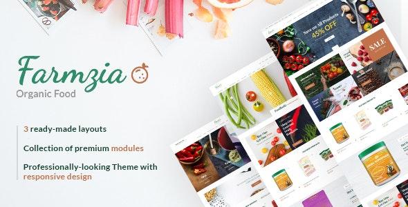 Farmzia - Organic Food PrestaShop Theme - Health & Beauty PrestaShop