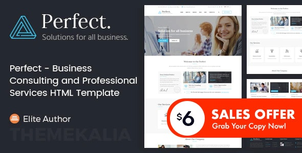 Perfect - Business Consulting and Professional Services HTML Template - Business Corporate