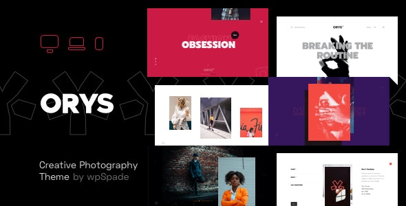 Orys - Creative Photography Theme - Photography Creative
