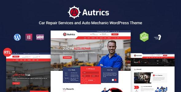 Autrics | Car Services and Auto Mechanic WordPress Theme - Business Corporate