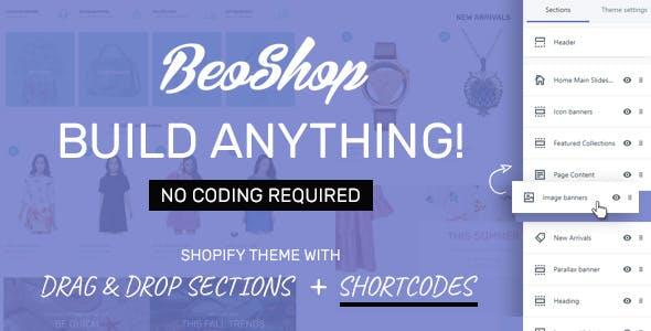 BeoShop - Drag & Drop Responsive Shopify Theme