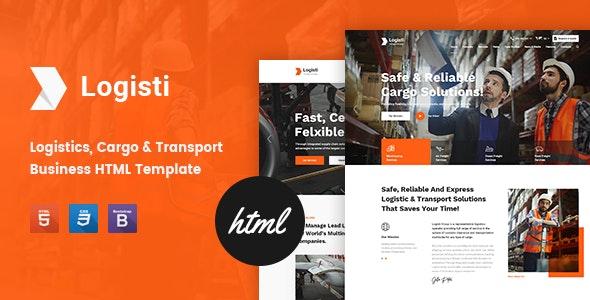 Logisti - Logistics & Transport HTML5 Template - Business Corporate
