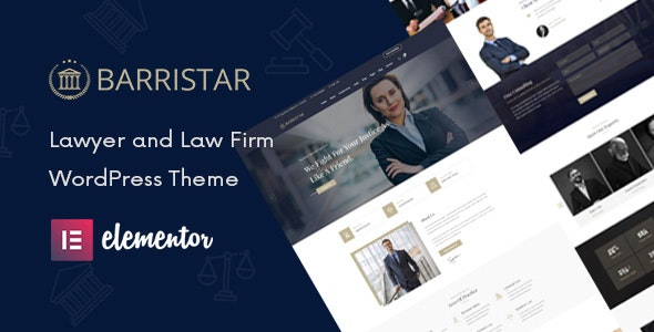 Barristar – Law, Lawyer and Attorney WordPress Theme - Business Corporate