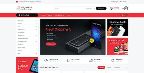 Mega Mart - Shopify Multi-Purpose Responsive Theme
