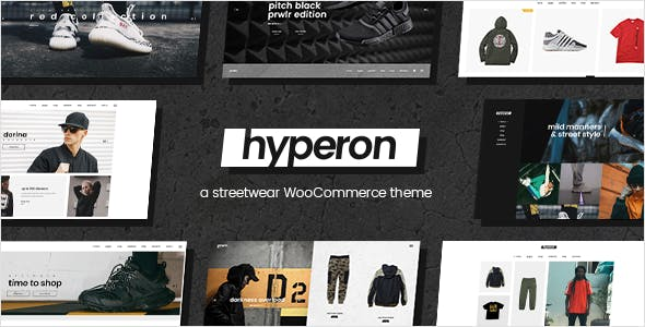 Hyperon - Clothing WooCommerce Theme