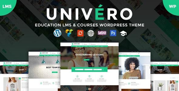 Univero | Education LMS & Courses WordPress Theme - Education WordPress