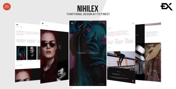 Nihilex - Photography Portfolio Template - Photography Creative