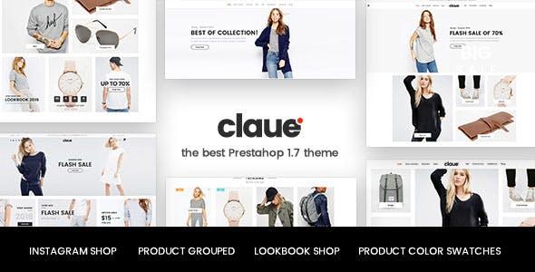 Claue - Clean, responsive Prestashop 1.7 theme