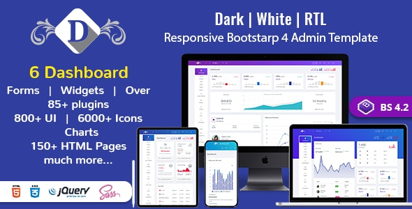 DashboardX Bootstrap 4 Admin Template by multipurposethemes