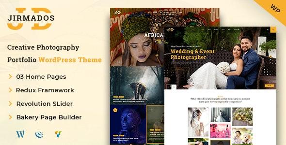Jirmados | WordPress Photography Theme - Photography Creative