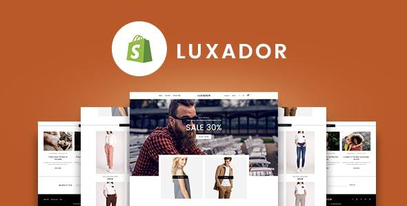 Gts Luxador  - Responsive Shopify Theme