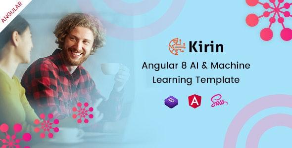 Kirin - Angular AI & Machine Learning Template - Business Corporate
