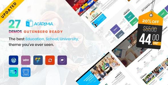 Academia - Education WordPress Theme - Education WordPress