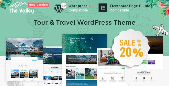 Valley - Tour & Travel Agency WordPress Theme - Travel Retail