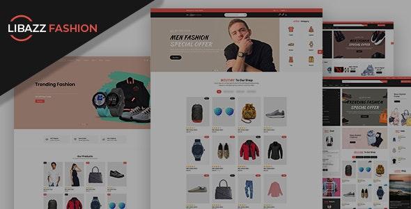 Libazz - The Fashionable eCommerce Store - Fashion Retail