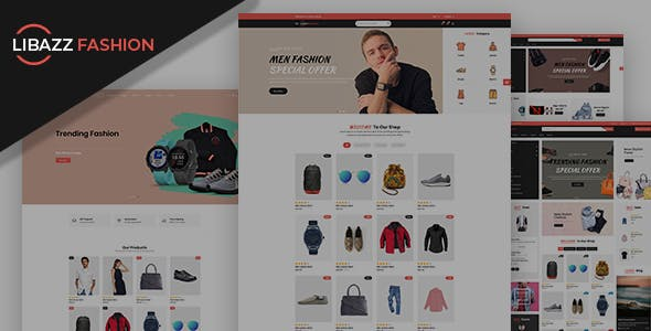 Libazz - The Responsive Bootstrap 4 Multipurpose eCommerce Template