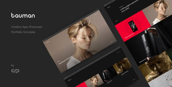 Bauman - Creative Ajax Portfolio Showcase Slider Template - Creative Site Templates