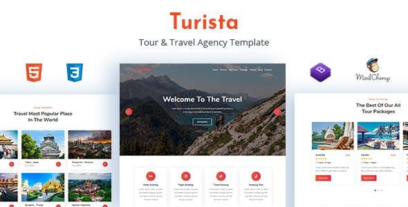 Turista - Tour & Travel Agency Template