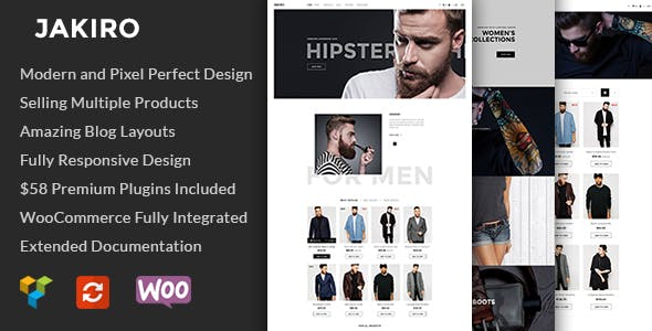 Jakiro - Fashion Shop WordPress Theme