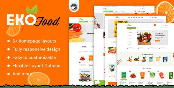 Ekofood - Organic Food Store Theme - PrestaShop eCommerce