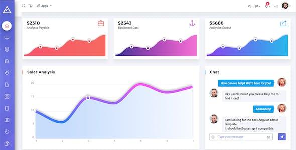Convex - Angular Bootstrap Admin Dashboard Template