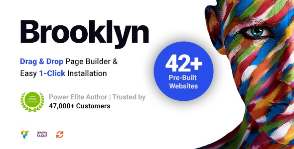 Brooklyn   Creative Multipurpose Responsive WordPress Theme - Portfolio Creative