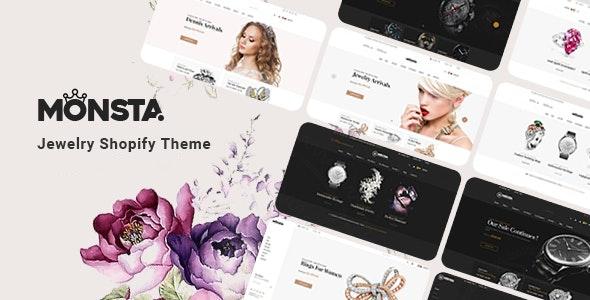 Monsta - Jewelry Shopify Theme - Fashion Shopify