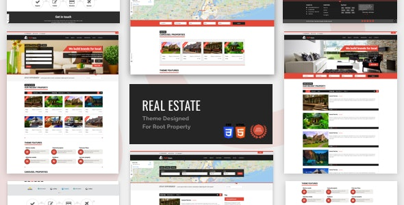 Full Estate - Theme Designed For Root Property - Retail Site Templates