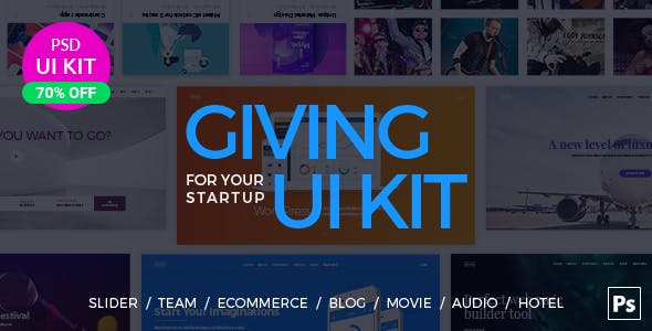 UI Kit for Your Startup