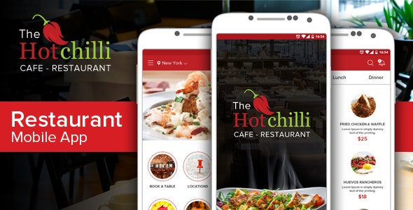 Hot Chilli App - Food Retail