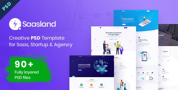 Project Management Software Website Templates From Themeforest